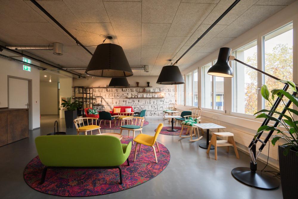 Businessfotografie Firmenräumlichkeiten Digicomp AG in Zürich